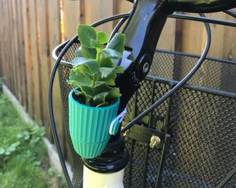Bicycle Planter - 3D Printed