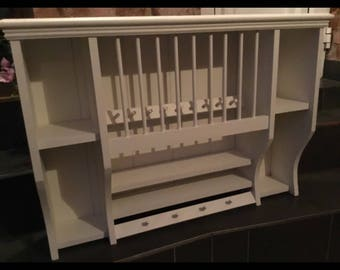 The emelda bespoke plate rack