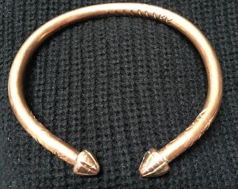 Hand Made Copper Bracelet
