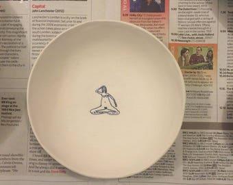 hairy naked lady bowl (medium)