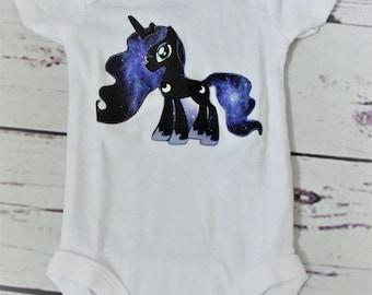 My Little Pony Princess Luna Onesie Size Newborn