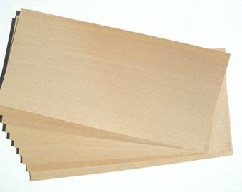 10 sheets, Beech tree, High quality wood veneer/Veneer sheets/Natural wood sheets