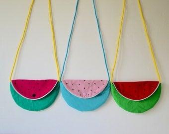 Child's handbag / shoulder shape watermelon girl / accessory