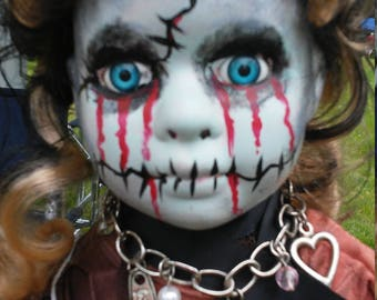 Porcelain Zombie Doll