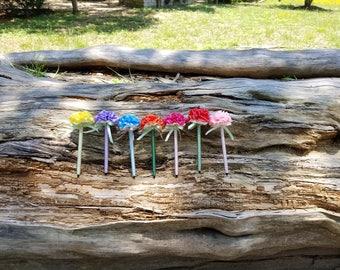 Ribbon Flower Pens