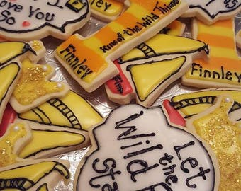 12 Where the Wild Things Are Sugar Cookies