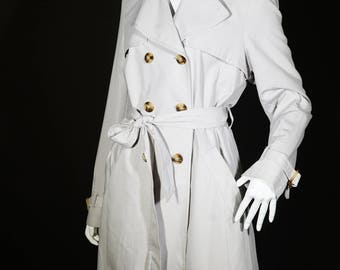 Classic Gray Darcy Trench Coat size UK 10-12