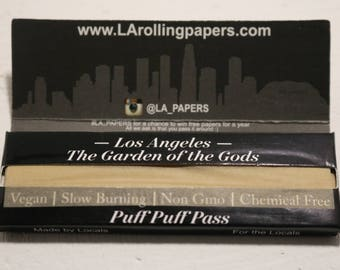 L.A. Papers - Vegan - Slow Burning - Chemical Free