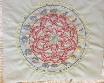 Sacred Feminine Mandala -- One of a Kind