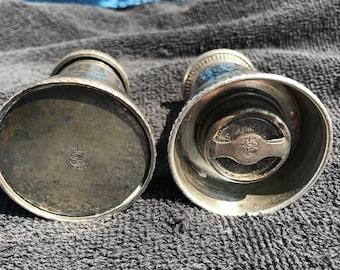 Vintage El de Uberti salt shaker and pepper grinder
