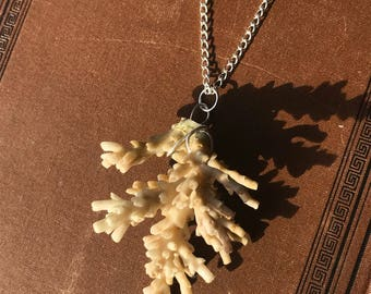 Real Coral Necklace