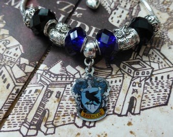 Ravenclaw House - A Harry Potter Themed Charm Bracelet