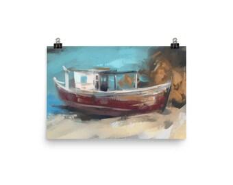 Old Fishing Boat Nha Trang