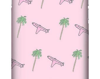 Palm Trees & Pink Planes Summer Holiday Edition Premium Phone Case