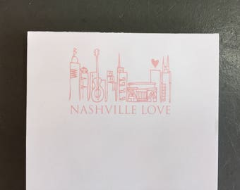 Nashville Love Notepad
