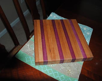 Handmade Hardwood Cutting Boards with Exotic Woods