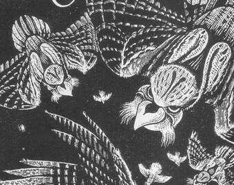 Nightjar | Roll-On Perfume Oil | Peach blossom, honeysuckle, fern, dragon's blood, and vanilla