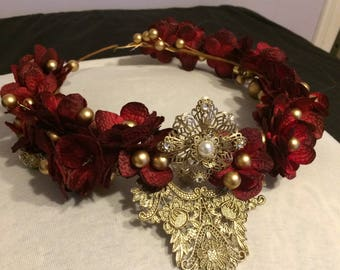 Gold Autumn Crown