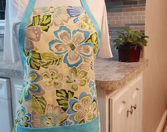 Adult Full Kitchen and Clothespin Apron