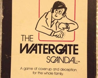 The Watergate Scandal Card Game - 1973