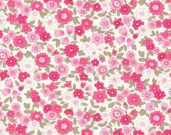 Pink by Sevenberry Petite Garden Fabric by Robert Kaufman - 100% Cotton