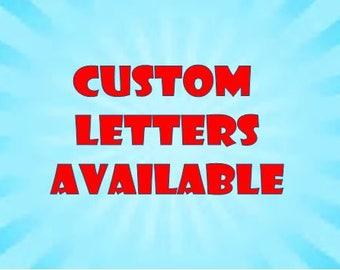 Custom Options available