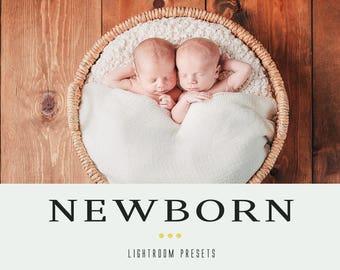 Newborn professional lightroom presets
