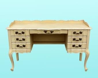 Vintage Queen Ann Style Desk