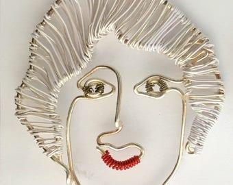 Golden Girls DOROTHY ZBORNAK  Wire Sculpture