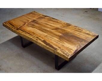 Live Edge Pine Coffee Table
