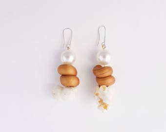 Pop Corn Earrings