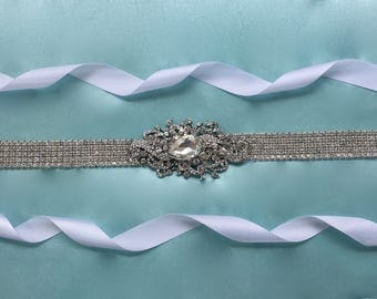 Wedding Belt Sash, Bridal Belt Sash, Wedding Sash Belt, Bridal Sash Belt, Art Deco Sash, Swarovski Crystal Sash, Bridal Gown Sash