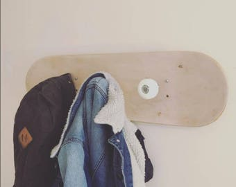 Porte manteau Skateboard