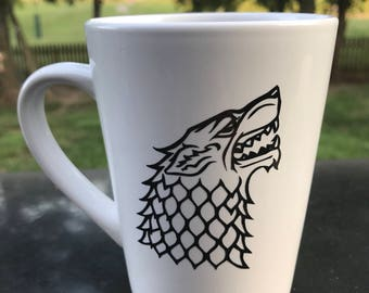Game of Thrones inspired Mug/Stark/The North Remembers