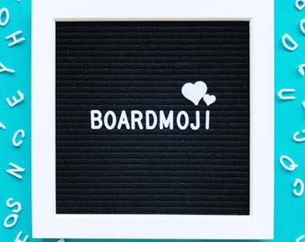 Letter Board Symbols - incl. hashtags, hearts, stars, music notes, female and male signs, teardrops, flower, @ symbol