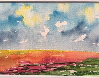 vibrant mini landscape