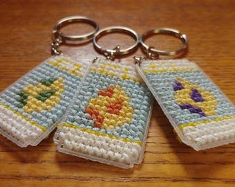 Pokemon Go Eggs in Yellow Incubators Keychains