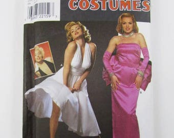 Marilyn Monroe, 7 Year Itch Dress Costume  Simplicity 8393, Rare, OOP - Uncut