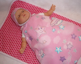Doll or 36 cm doll clothes / / doll sleeping bag / / Bunting / / set of night /Bonnet sleeping bag / cover * NAP *.