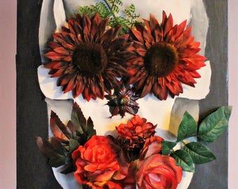 Skull of Flowers