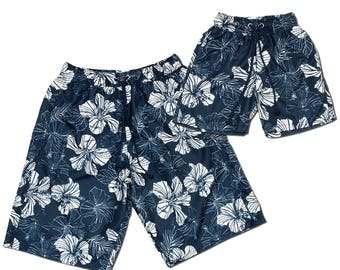 Swim shorts 'trend', Partnerlook father son set price!