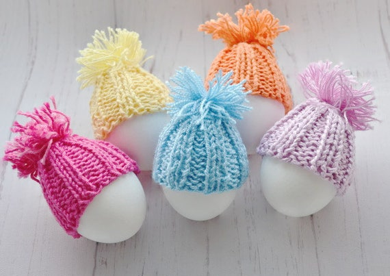 Easter decorations easter gift easter bunny egg cozy knitting like this item negle Gallery