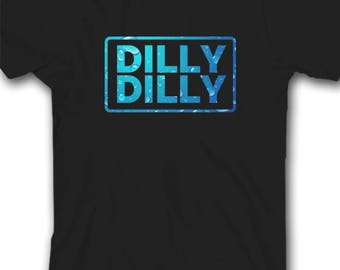 Inspired By Dilly Dilly classic Black T shirt, Unisex Adult and Youth Size T Shirt