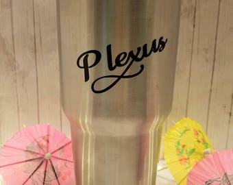 Plexus Inspired 30 oz Aluminum Travel Tumbler