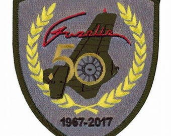Official Gazelle 50th Anniversary Embroidered Patch