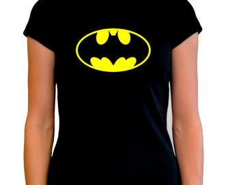 Camiseta mujer chica BATMAN T shirt woman varias tallas different sizes