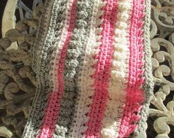 Women's crochet scarf