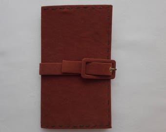 Suede Journal/Diary/Notebook/Travel Journal/FREE SHIPPING