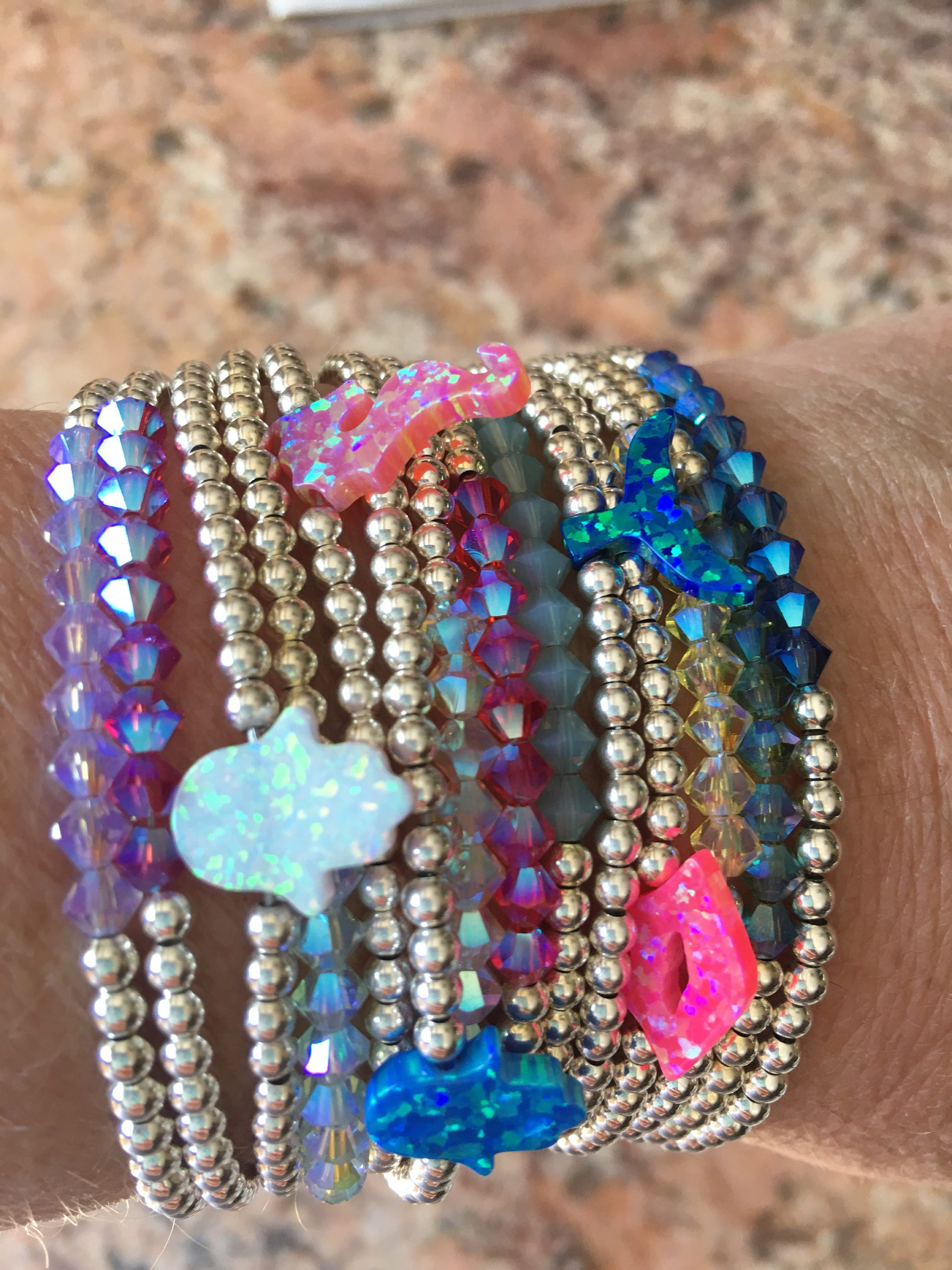 opal pink product amethyst bracelet and
