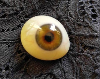 Vintage glass prosthetic human eye